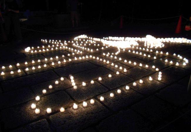 高野山万燈供養会(ろうそく祭)