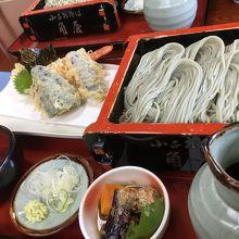 天ぷらも絶品