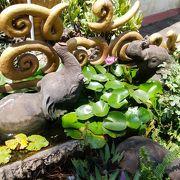 チェンマイで一番気に入った寺院です。