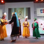 民族舞踊も見れる