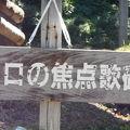写真:松本清張歌碑