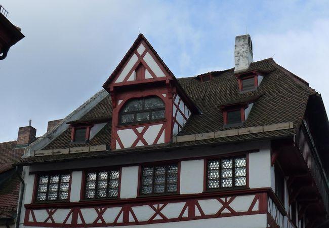 木組みのしっかりした家でした