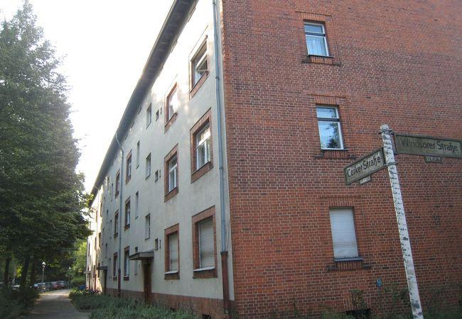 ベルリンの近代集合住宅群