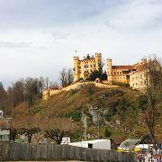 淡い黄色が印象的「ホーエンシュバンガウ城」ドイツ