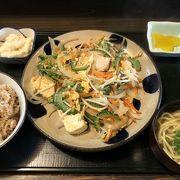 ボリュームがありなかなか美味しい沖縄料理のお店がありました