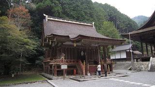 日本史の教科書にも登場する文化財の多い神社。