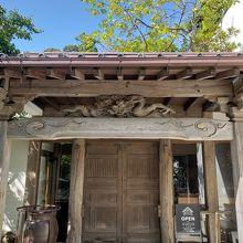 入口の扉(自動ドア)