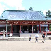 比叡山延暦寺の主要拠点