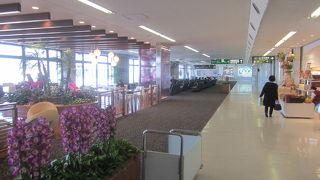比較的大きな空港