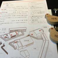 館内案内図、敷地はコンパクト