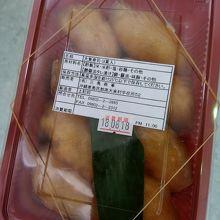大東寿司。すぐ売り切れるのでお早めに。