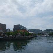 長崎港のすぐそば
