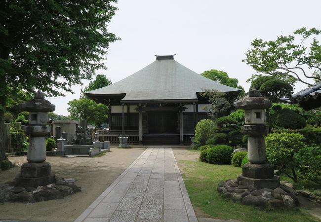 綺麗に整備されたお寺さん