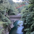 写真:八ツ沢発電所 一号水路橋