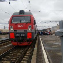 イルクーツク旅客駅
