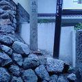 写真:滝山城跡