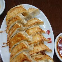 香蘭の焼き餃子