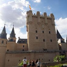 「白雪姫」のお城のモデル アルカサル