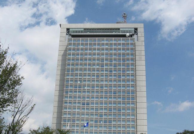 茨城県庁展望ロビー
