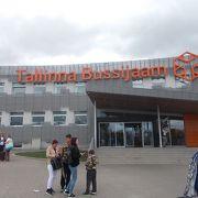 きれいなバスターミナル