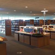 本屋さんのような最先端の図書館