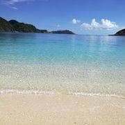 透明感すごい!泳ぎやすい海です( ´∀`)