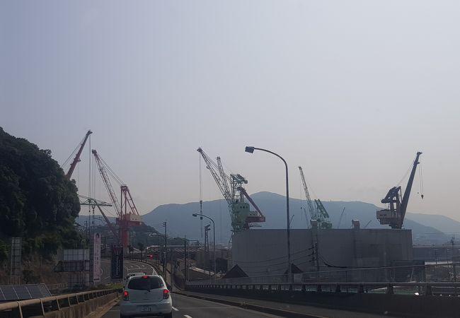 佐世保重工業250トンクレーン