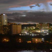 9階バルコニーからの夜景