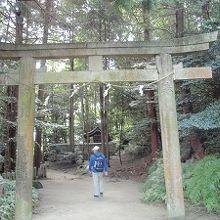 神奈備神社鳥居