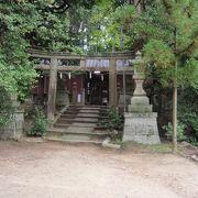 甘南備山登山の帰りに薪神社に寄りました