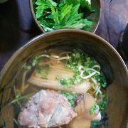 丁寧に作られたスープが美味しい!
