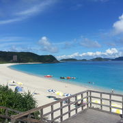 本島から手軽に行ける離島の綺麗なビーチ