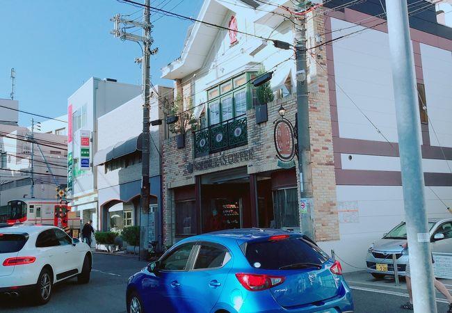 駅前の喫茶店