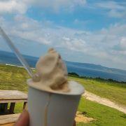 景色が良くアイスが美味しい