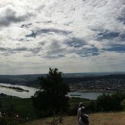 ライン川が見渡せます
