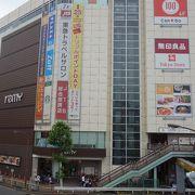 五反田駅に近いショッピングセンター