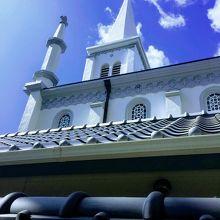 和と洋が融合した教会!