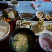 豆腐屋というより郷土料理屋さんです