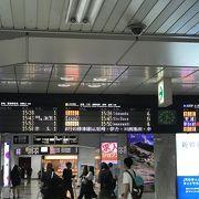 大阪の中心