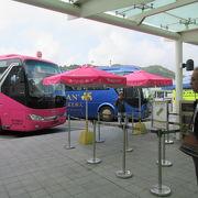 タイパ地区のホテルから、ホテルの無料バスを利用して港や旧市街地の観光地に行きましょう。