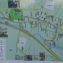 道の駅すばしりは、国道の傍で須走の宿泊施設や商店街も近いです