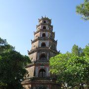 フエ最古のお寺