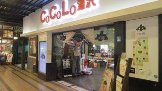 越後湯沢駅構内の一大ショッピングエリアです。