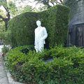 写真:ジャコモ プッチーニの像