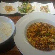 麻婆豆腐ランチが絶品!