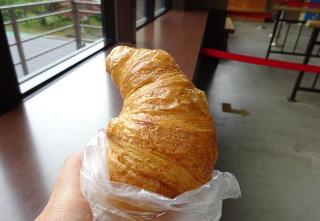 新穂高ロープウェイ駅のパン屋さん