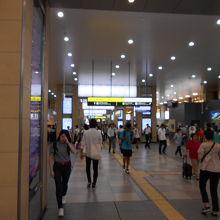 天王寺駅中央コンコース