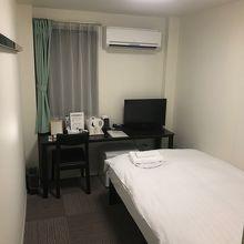 室内は普通のホテルとそう変わりません。
