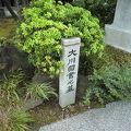 写真:東福寺(大川図書の墓)