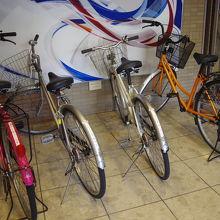 無料で貸してくれる自転車